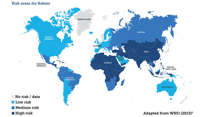 disease risk map